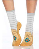 [Foot Traffic Moccasin Slipper Sock]