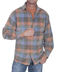 [Scully Contemporary Westerns Plaid Shirt ]