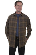 [Scully Contemporary Westerns Corduroy Shirt]