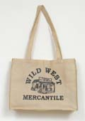 [Wild West Mercantile Non-Woven Tote Bag]