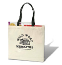 [Wild West Mercantile Canvas Tote Bag]
