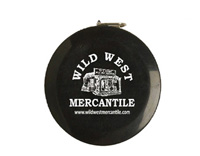 [Wild West Mercantile Tape Measure]