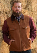[Wyoming Traders Cody Concealed Carry Canvas Vest]