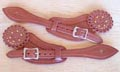 [Wild West Mercantile Ladies' Bronco Spur Straps]