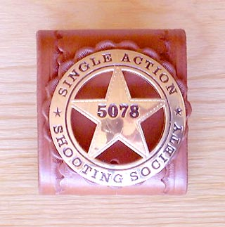 [Wild West Mercantile Sass Badge Holder]