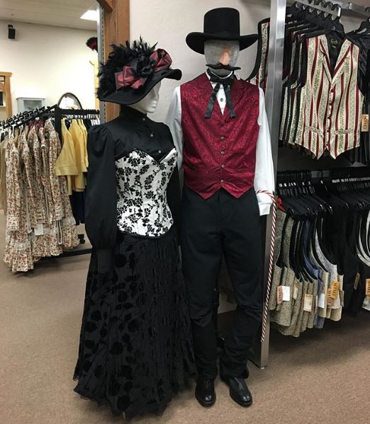 Ladies & Men's Costumes