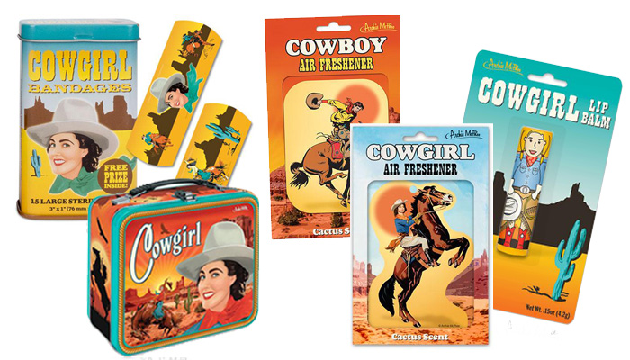 Cowgirl Novelty Items