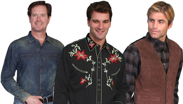 Modern Western Men's Clothing