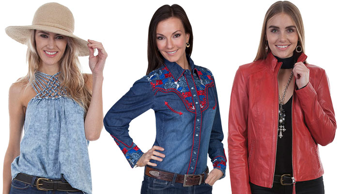 Modern Western Women's Clothing