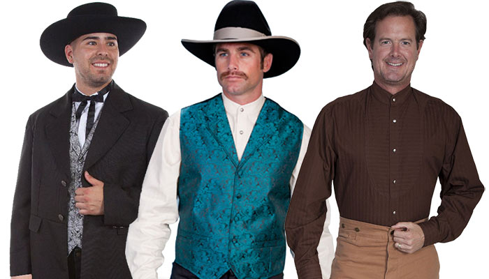 Old West Men's Clothing