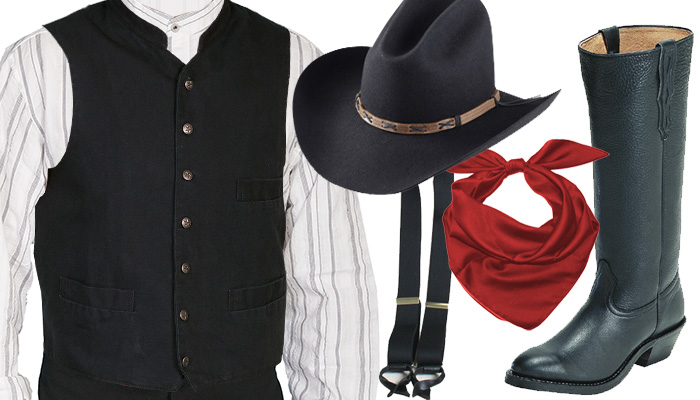 Old West Outrider Outfit