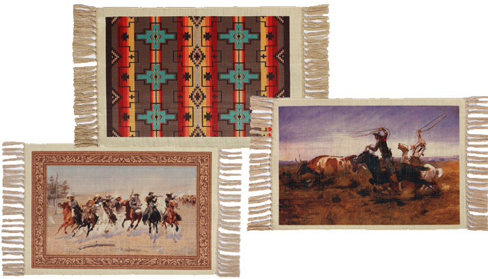 NEW: Western Placemats