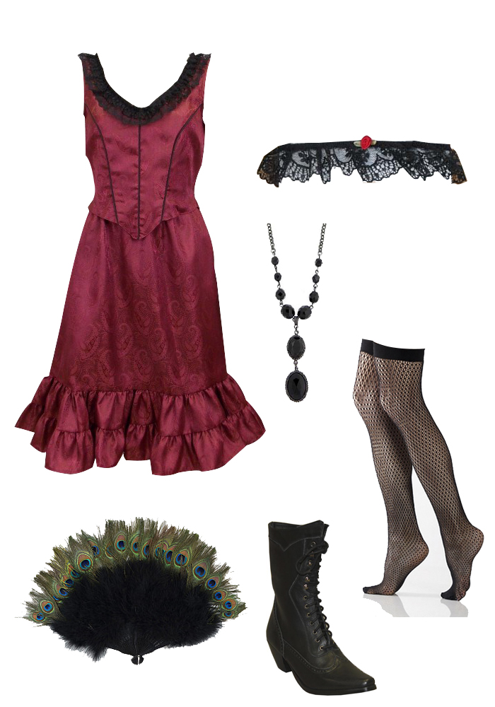 The Kate Saloon Girl Outfit
