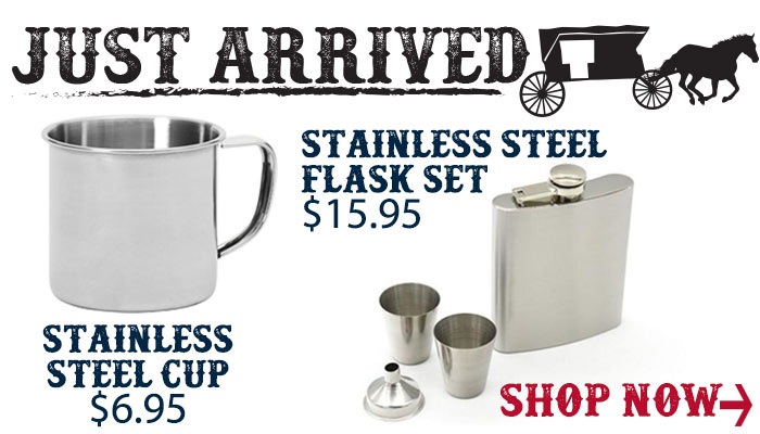 Just Arrived Stainless Steel Flask and Cup