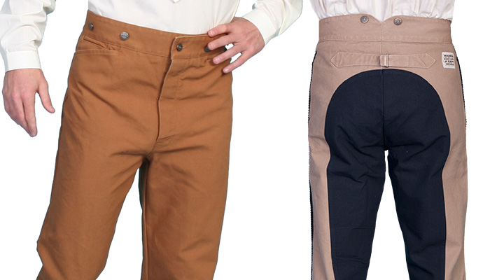 Men's Frontier Style Trousers