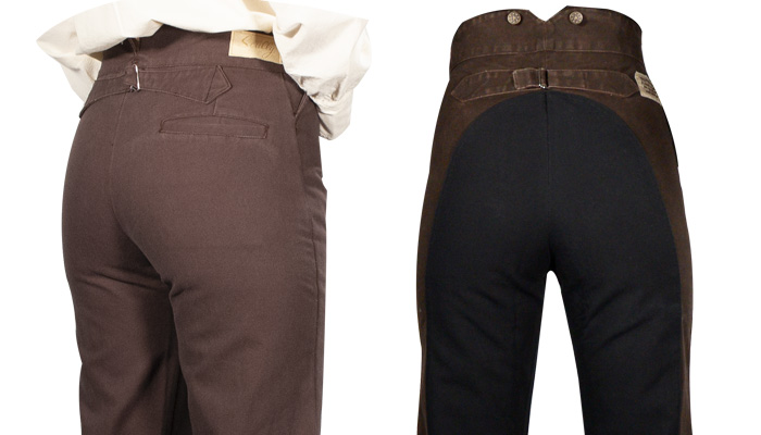 Ladies's Frontier Style Trousers